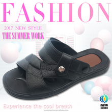 slippers pvc plastic 2017 for man best selling sandals