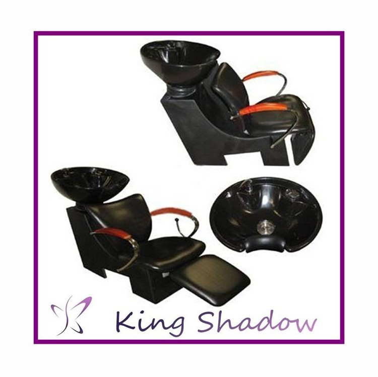 kingshadow adjustable shampoo chair comfatable hair washing basin combinable salon hair shampoo chair
