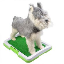 RoblionPet New dog puppy indoor regular clean protect floor litter tray pan training pad holder pet toilet