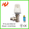 TF-6 and DN15-B brass thermostatic radiator valve