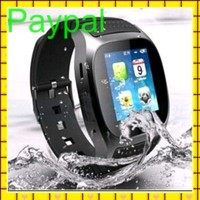 high quality waterproof wrist watch mobile phone