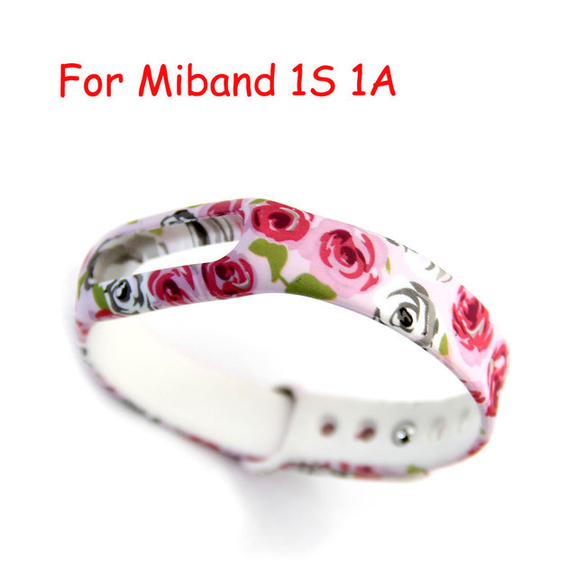 Hot Silicone Replace Strap For Mi Band 1S 1A Smart Wristband  for Xiaomi Bracelet Belt Wearable Accessories