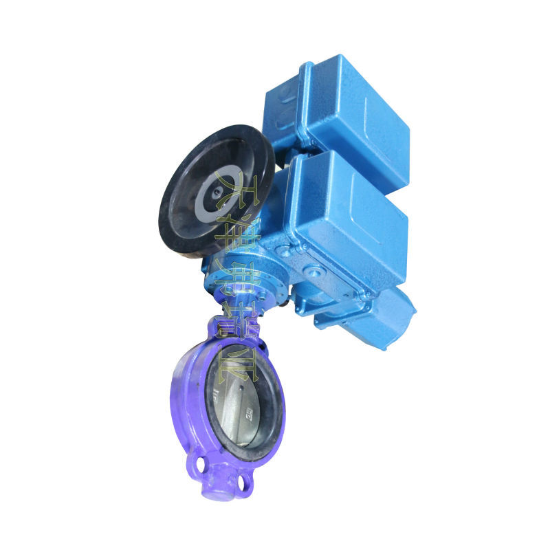 stainless steel flange connecting butterfly valve used for quarter turn electric actuator