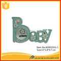 "89105G Resin ""Baby"" Letter Baby Birth Souvenirs Funny Baby New Style Photo Frames Wholesale"