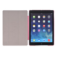 New high quality Anti falling full protector smart leather PC+PU case for 2017 ipad pro 9.7 cover