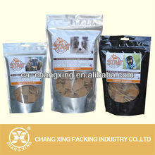 See through transparent window plastic bag for tabacco, spice,nuts,dried fruit