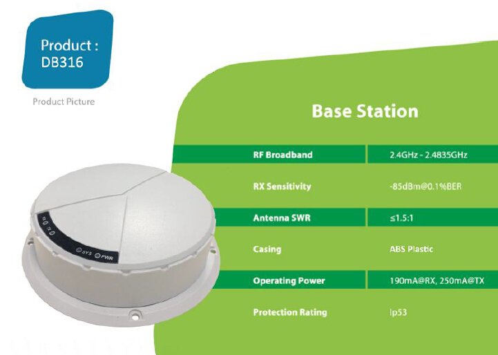 RFID base station els system