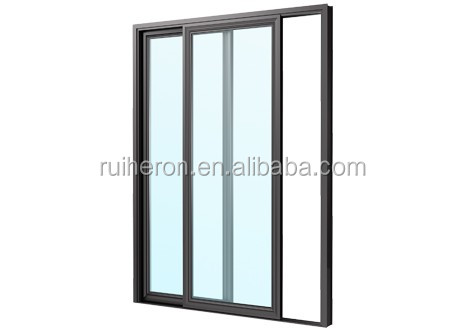 Most Professional New Standard design aluminum alloy frame glass balcony sliding door with laminated glass