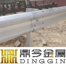 Q235, galvanized guard railing W beam / highway guard rail price ( factory & ISO9001 )