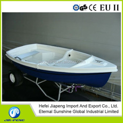 Attention!!! Small Dinghy Fiberglass Fishing Boat 2.7m with low price