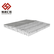 prefabricated steel structure warehouse drawings, light steel structure workshop