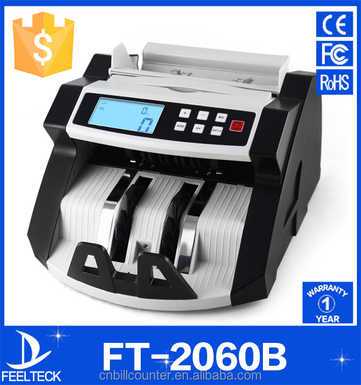 professional automatic electronic counterfeit banknote currency count cash bill money counting counter machine price for sale