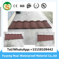 Color Steel Material Cheap roofing sheet shingle roof tiles