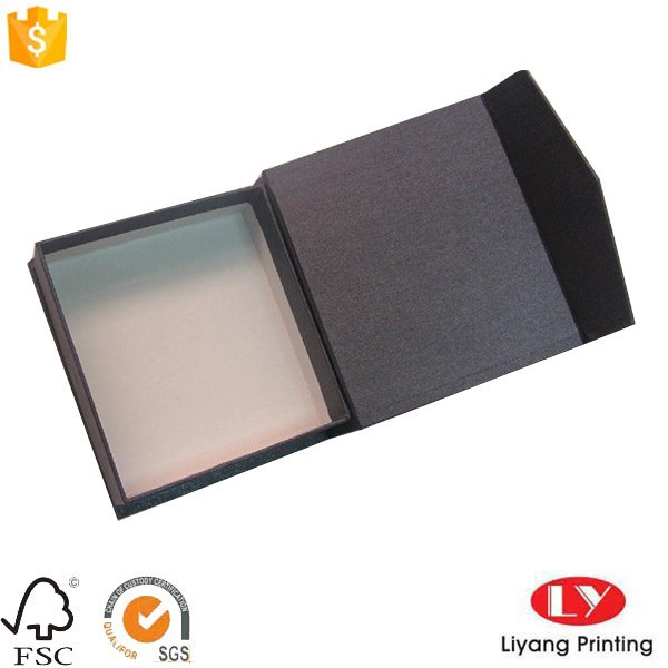 custom magnetic closure square gift box packaging in book shape