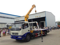 car carrier truck pick up road recovery vehicle wrecker truck