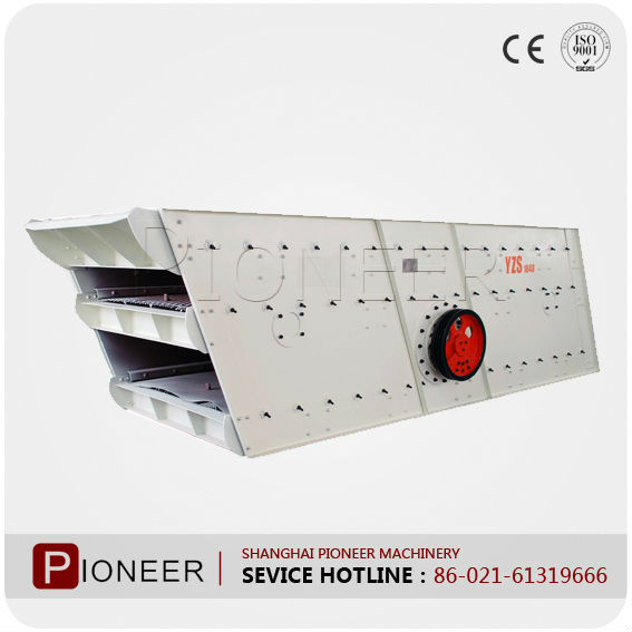 Hot sale YZS Circular Vibrating screen and sieve