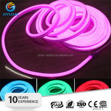 Guangzhou yu hong 24V 5W/m LED neon flexible Mini Led Neon Flex outdoor led Neon Flex pink/green color