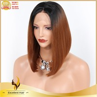 Ali expres china cheap synthetic lace front wig with baby hair