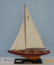 """Ranger"" J 5 Yacht Model, 2 Color 50cm long, the champion J Class racing yacht sailing ship of Americas Cup 1937"
