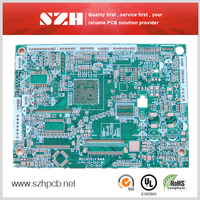Immersion Gold 1oz 1.6mm PCB and PCBA services in China Sunthone