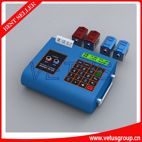 ultrasonic type digital diesel fuel flow meter for test oil liquid