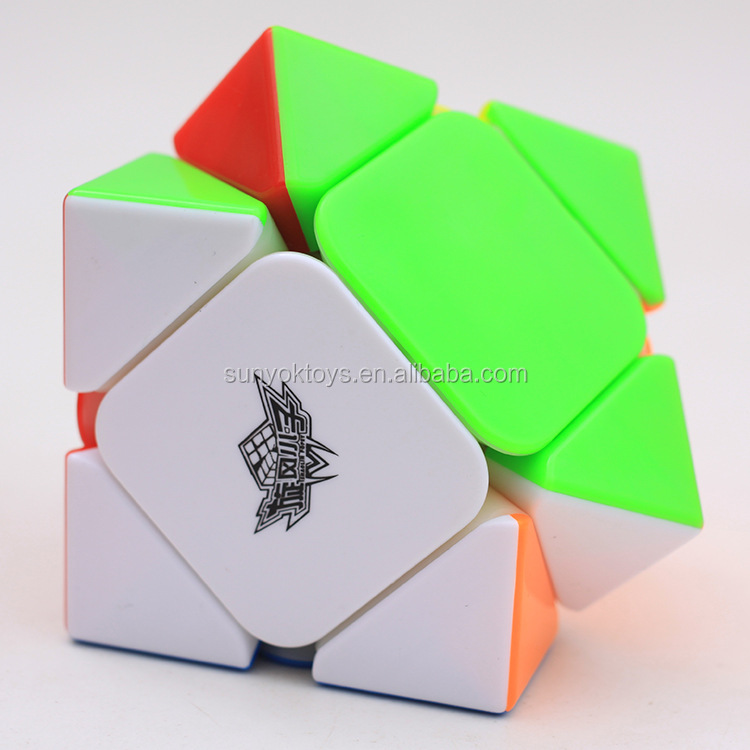 CYCLONE BOYS Puzzle Cube XIE ZHUAN Magnetic Magic cube Competition Stickerless Educational Plastic Toys Wholesale