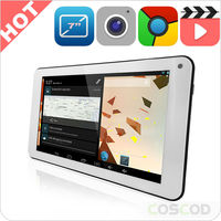Wholesale 7'' - 10'' 7 inch arm mali-400 3d gpu tablet pc with 3G / Bluetooth / Call Phone / GPS