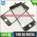 YJDT LCD Refurbished Parts for iphone 5 5c 5s 6 6plus digitizer with cold press glue frame