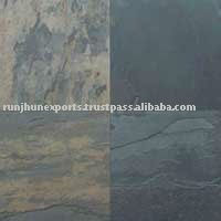 Grey flagstone paver