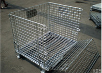 popular metal storage cage with wheels