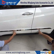 for 2014 Hond-a Vezel Exterior Accessories High quality ABS chrome Car door strip side moulding trim bar