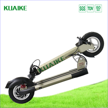 2016 New Year Limited Edition Fold up electric scooter Kuaike brand 350W brushless motor with Li-ion fast charge time battery