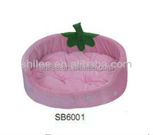 Cute strawberry shaped pet bed