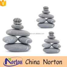 Foot massage grey natural stone pebble on sale NTCS-P010Y