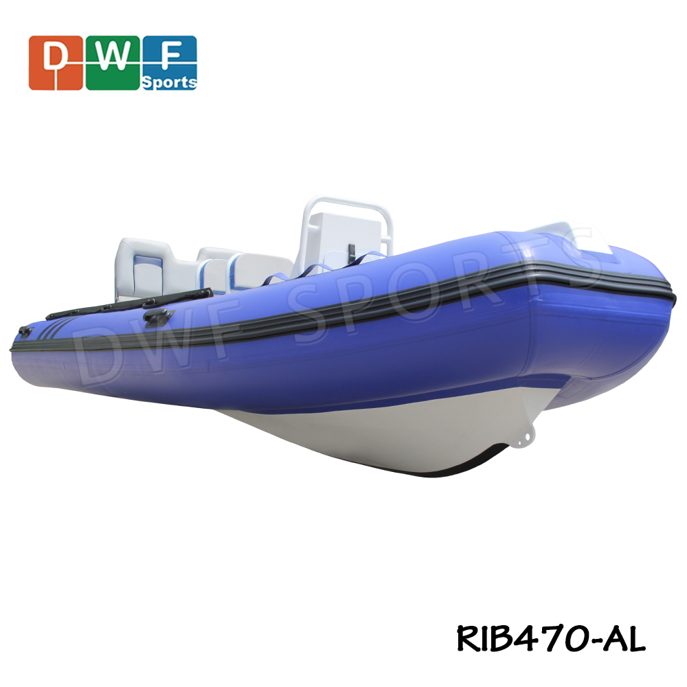 RIB 470 China Manufacturer of Aluminium Rib <strong>Boat</strong> Hypalon or PVC Material Rigid Inflatable <strong>Boat</strong> with CE Certification