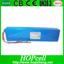 HOPcell High quality Rechargeable Battery Ebike 24v 10ah Li ion Battery Packs