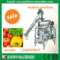 fruit and vegetable hollander beater/fruit vegetable beating machine