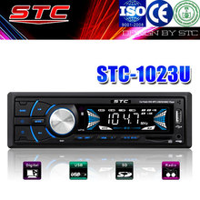auto radio 1 din low power car mp3 player with fm transmitter stc-1023u