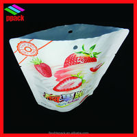 stand up pouch aluminium foil packaging for chips/plastic package bag/packing bag