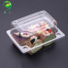 Transparent Plastic Bread Boxes Trays For Cakes