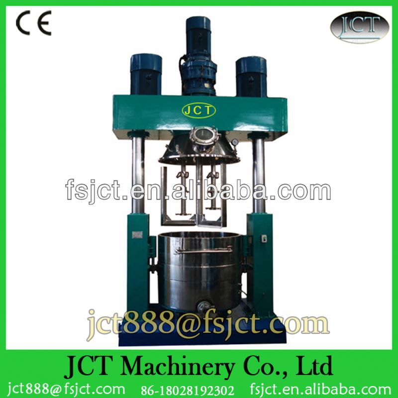 Vacuum meat mixer grinder machine for chemical industry