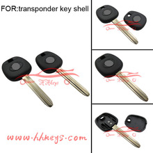 Original uncut car key blade Toyota avalon camry corolla sienna transponder car key