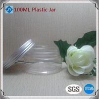 100ml 3oz pet Plastic Containers for ice cream, honey, candy,nutella