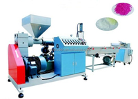 PP PE ABS PC PS Flake recycled pellet extrusion machine