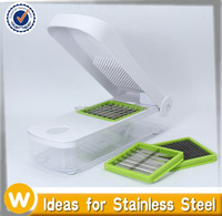 Onion, Vegetable, Fruit and Cheese Chopper with Slicer and Storage Lid