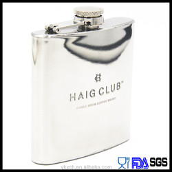 sell the best quality food grade steel hip flask