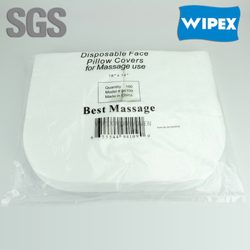 spunlace nonwoven disposable face pillow covers