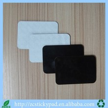 Customized Eco-friendly Pu Gel 3m sticky pad black color