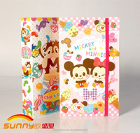 Elastic Closure Cute Image Printing Picture Frame Album