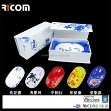white cordless mouse,white wifi mouse,minnie laptop wireless mouse--MW8004--Shenzhen Ricom